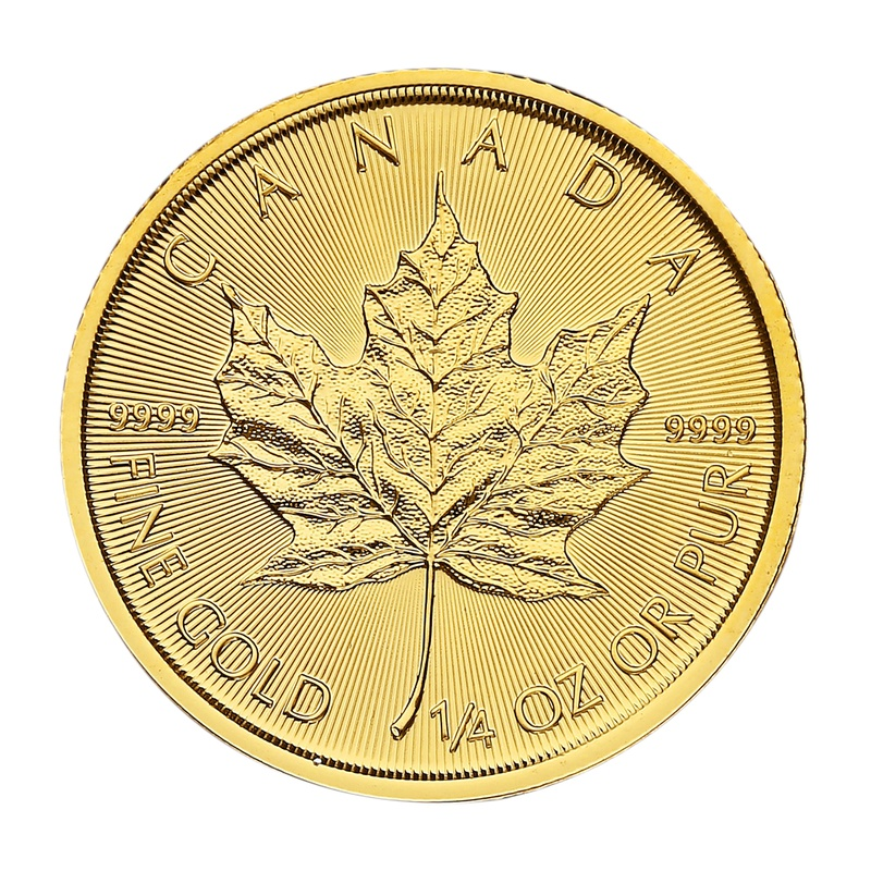 2021 Quarter Ounce Gold Maple
