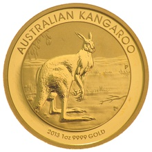 2013 1oz Gold Australian Nugget