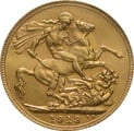 1913 Gold Sovereign - King George V - London
