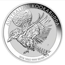 1kg Kilo 2018 Silver Kookaburra Coin