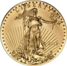 2018 1oz American Eagle Gold Coin