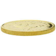 1975 Mauritian 1000 Rupees Gold Coin