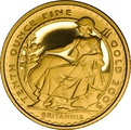 2005 Tenth Ounce Proof Britannia Gold Coin