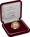 Gold Proof 2006 £1 One Pound Egyptian Arch Bridge Boxed