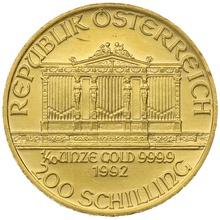 1992 Tenth Ounce Gold Austrian Philharmonic
