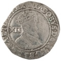 James I Shilling - Fine