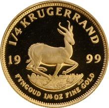1999 1/4oz Gold Proof Krugerrand - Boxed