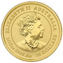 2020 Perth Mint Tenth Ounce Year of the Mouse Gold Coin