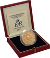 1993 - Gold £5 Proof Crown, 40th Anniversary of the Coronation Boxed