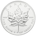1999 1oz Canadian Maple Silver Coin