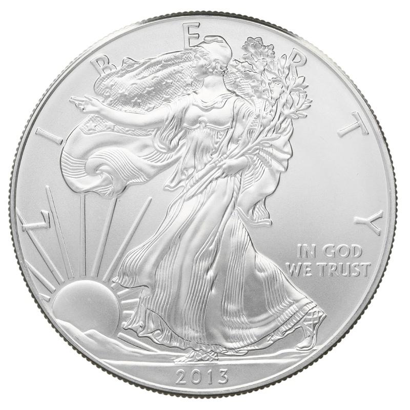 2013 1oz American Eagle Silver Coin