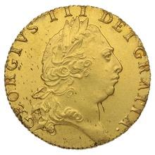 1793 George III Gold Guinea