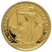 2006 Quarter Ounce Proof Britannia Gold Coin