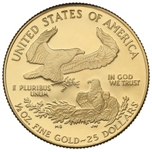 1995 Proof Half Ounce Eagle Gold Coin