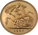 Half Sovereign George VI 1937