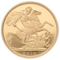 2015 £2 Two Pound Proof Gold Coin