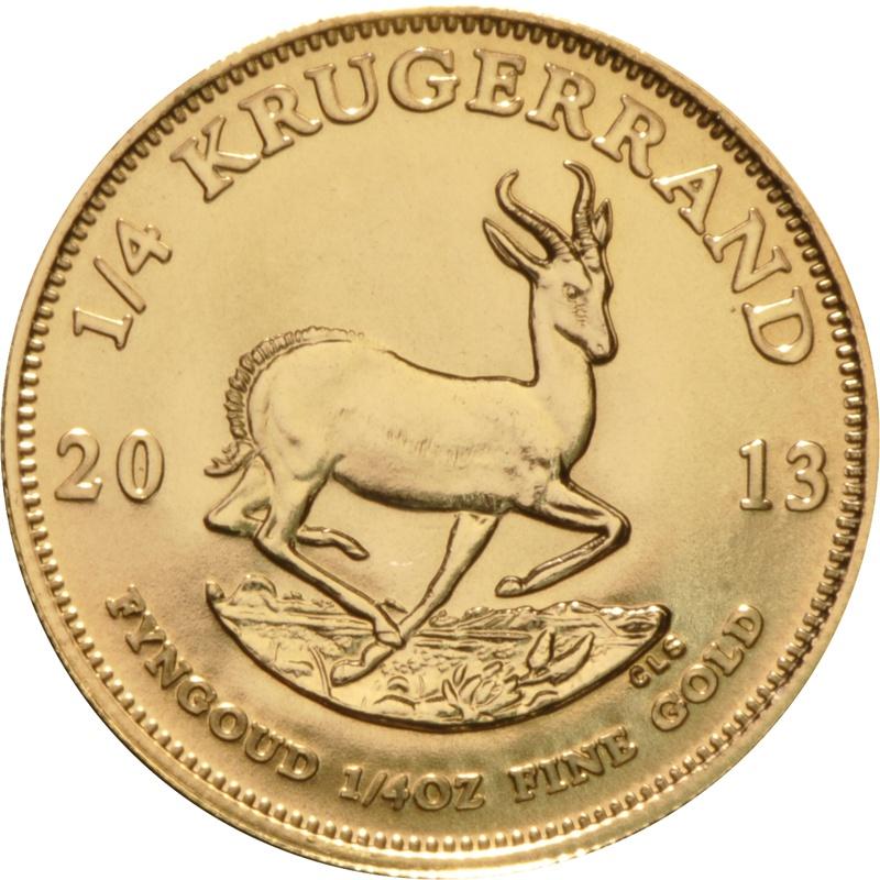 2013 Quarter Ounce Gold Krugerrand