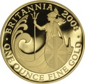 2008 One Ounce Proof Britannia Gold Coin
