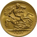 1931 Gold Sovereign - King George V - P
