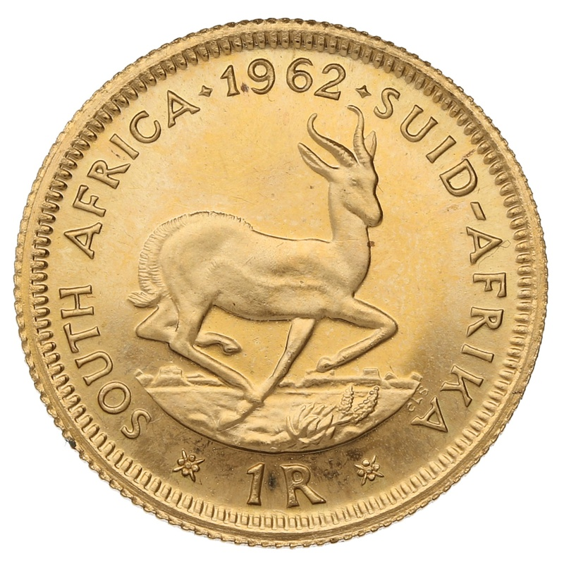 1962 1R 1 Rand coin South Africa