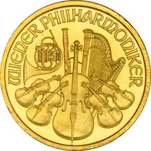 2011 Half Ounce Gold Austrian Philharmonic