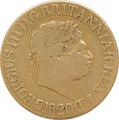 1820 Gold Sovereign - George III - Fine