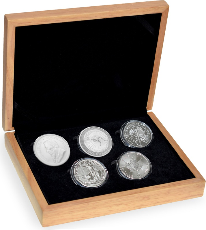 2021 1oz Silver Five Coin Set in Gift Box