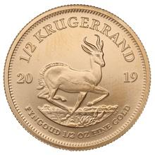 2019 Half Ounce Krugerrand Gold Coin