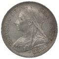 1893 Victoria Silver Halfcrown