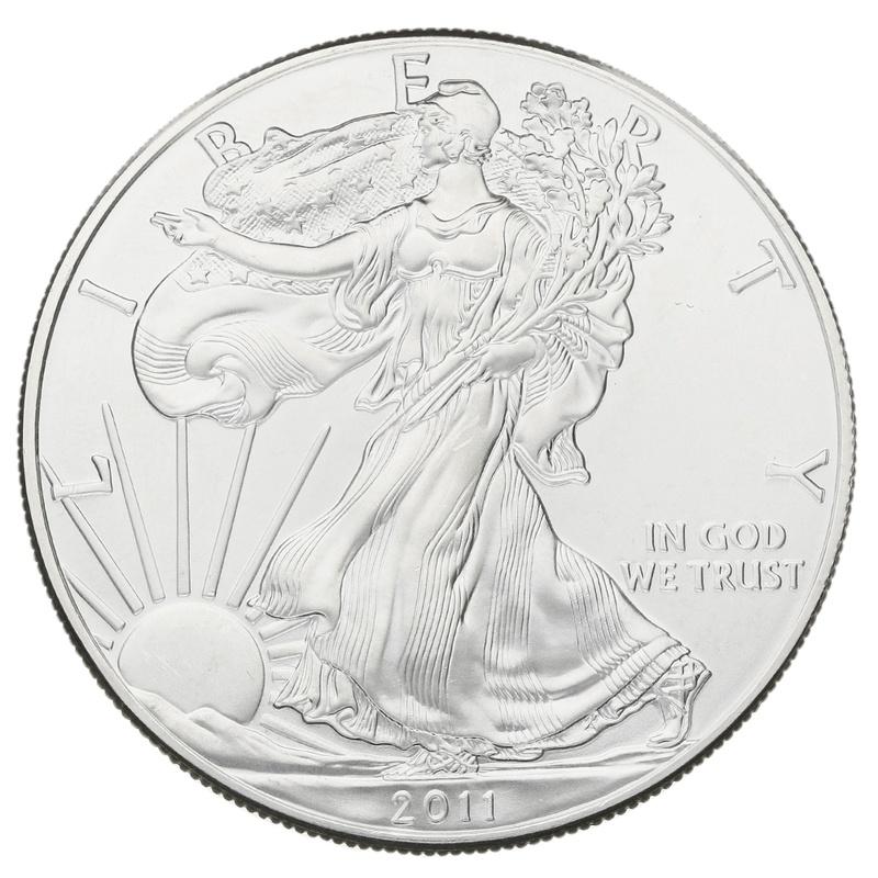 2011 1oz American Eagle Silver Coin
