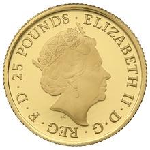 2016 Proof Quarter Britannia Gold Coin Boxed