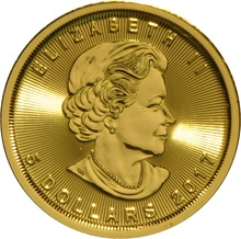 2017 Tenth Ounce Gold Canadian Maple