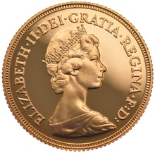 Gold Proof 1982 Sovereign Boxed
