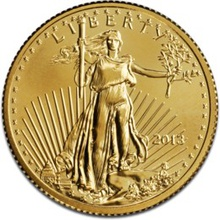 2013 American Eagle Half Ounce Gold Coin