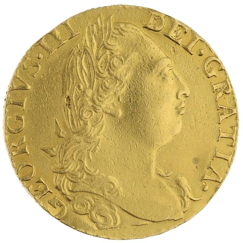 1763 Guinea Gold Coin