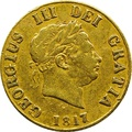 Half Sovereign George III 1817 - 1820