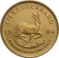 1984 Quarter Ounce Gold Krugerrand
