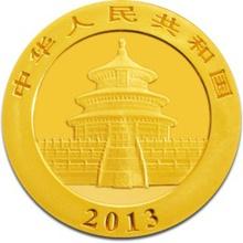 2013 1oz Gold Chinese Panda Coin