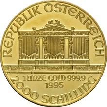 1995 1oz Austrian Gold Philharmonic Coin