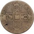 1707 Anne Silver Half Crown