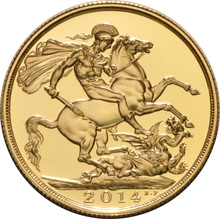 2014 £2 Double Sovereign Brilliant Uncirculated