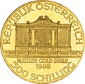 1989 Quarter Ounce Gold Austrian Philharmonic