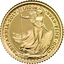 2017 Tenth Ounce Gold Britannia