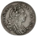 1696 William III Silver Sixpence