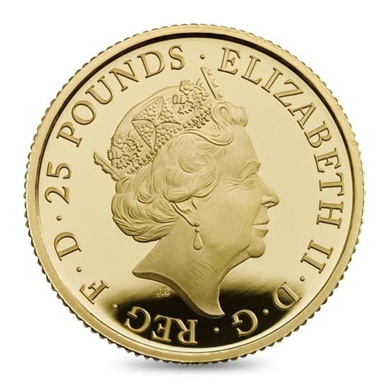 2017 Quarter Ounce Proof Britannia Gold Coin