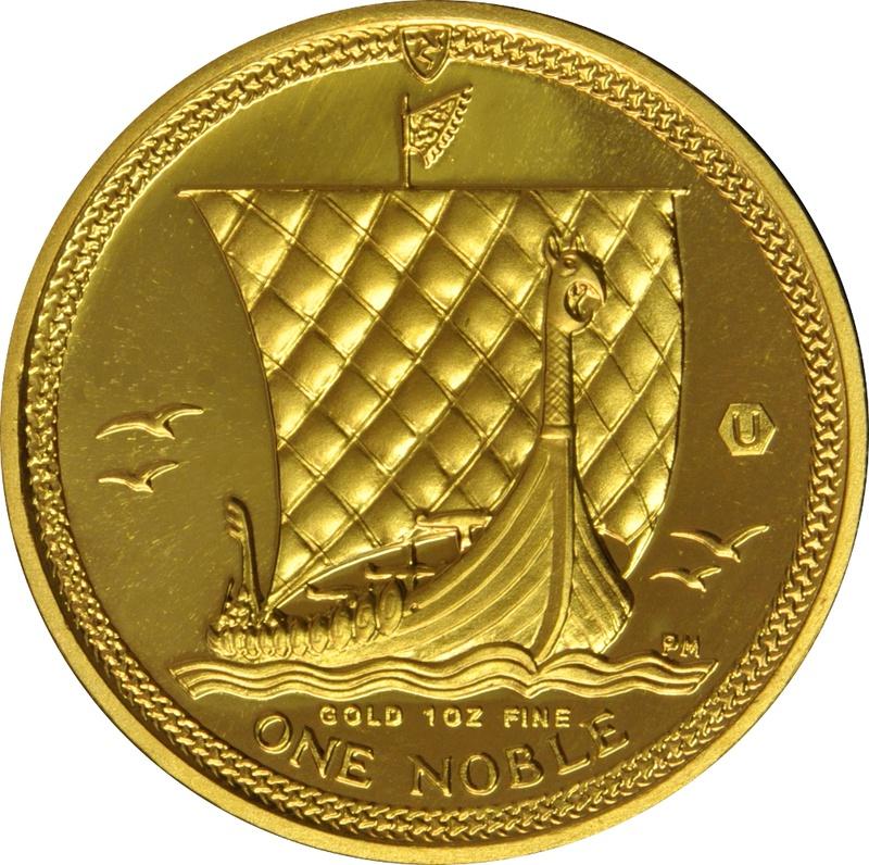 1oz Gold, Isle of Man Noble