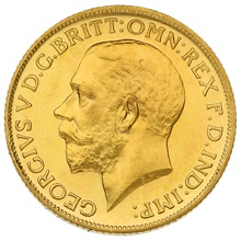 1911 George V Proof Gold Sovereign