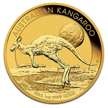 2015 1oz Gold Australian Nugget