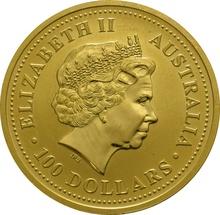 2002 1oz Gold Australian Nugget