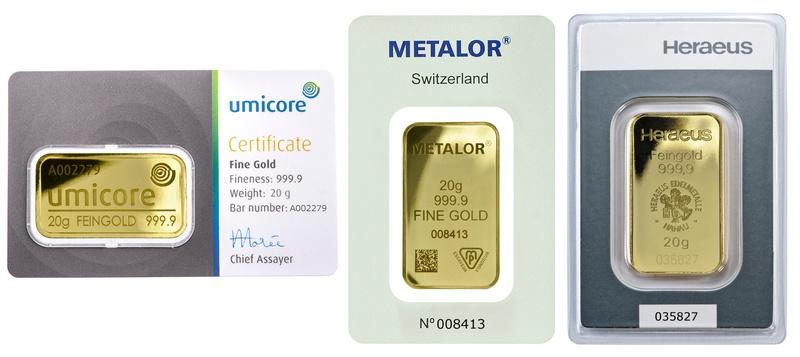 20 Gram Gold Bar Best Value (Brand New)